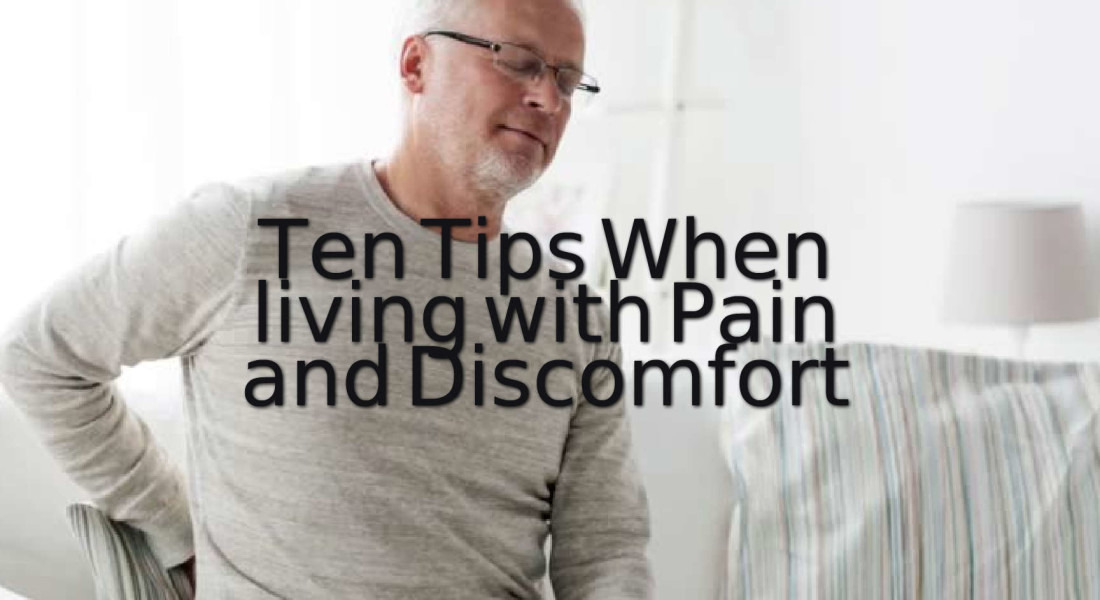 Living with pain and discomfort